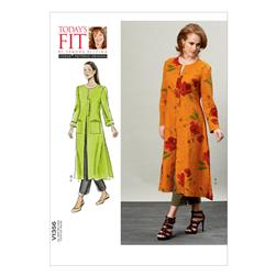 Vogue Misses' Duster and Pants Pattern V1356 Size OSZ
