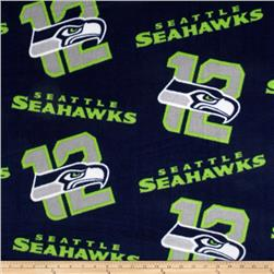 NFL Fleece Seattle Seahawks Navy/Green