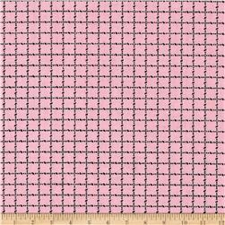 Mini Checks Pink/Black