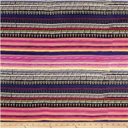Chiffon Enigma Stripes Multi