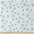 Holly Jollies Snowflake Swirl Green
