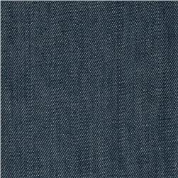 Stretch Denim Medium Washed Blue