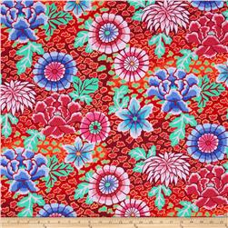 Kaffe Fassett Collective Dream Red Fabric
