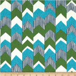 Richloom Nino Chevron Teal