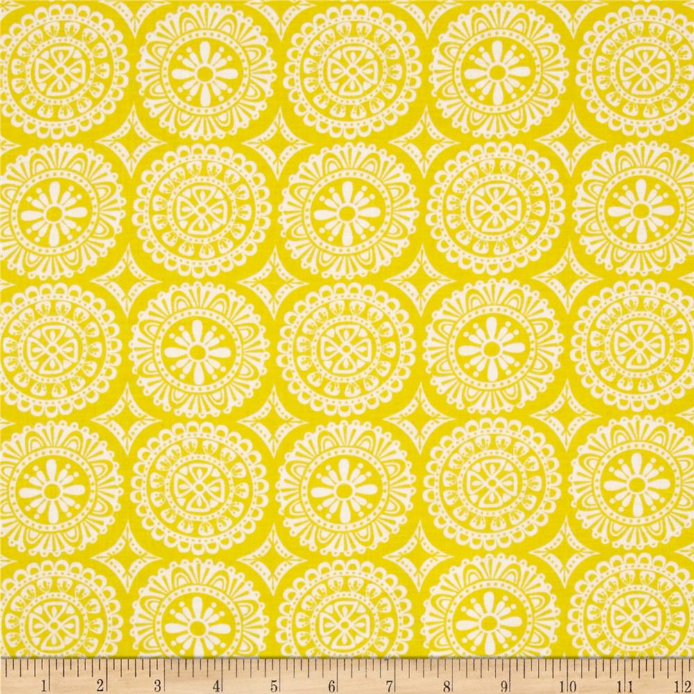 Garden Party Tango Medallion Yellow