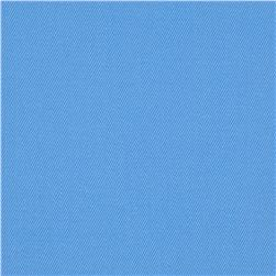 Organic Cotton Twill Ice Blue