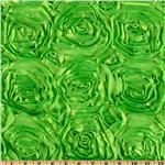 Splenda Satin Ribbon Rosette Lime Green
