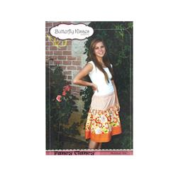 Butterfly Kisses Pattern 104 Fancy Clancy Skirt Pattern