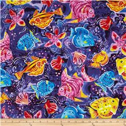 Coral Sea Fish Purple