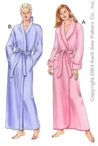 Kwik Sew Wrap Robes Pattern