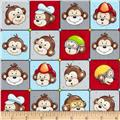 Monkey Around Monkey Faces Multi