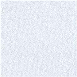 11 oz Comfort Cotton Terry Cloth White Fabric