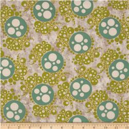 Metallic Bubbles Beige