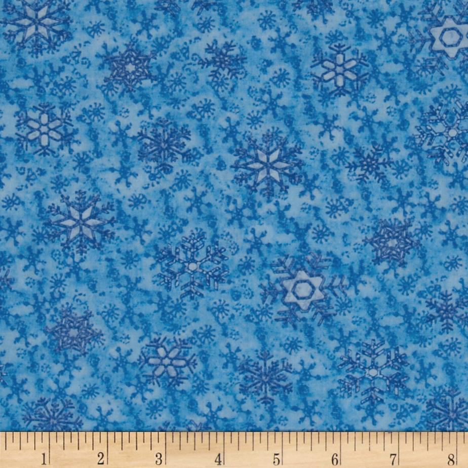 Snow Daze Snowflake Blue