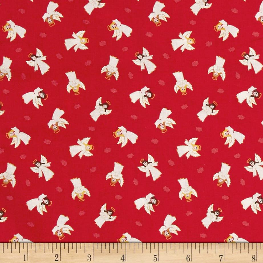 Lewis & Irene Small Things At Christmas Little Angels Red