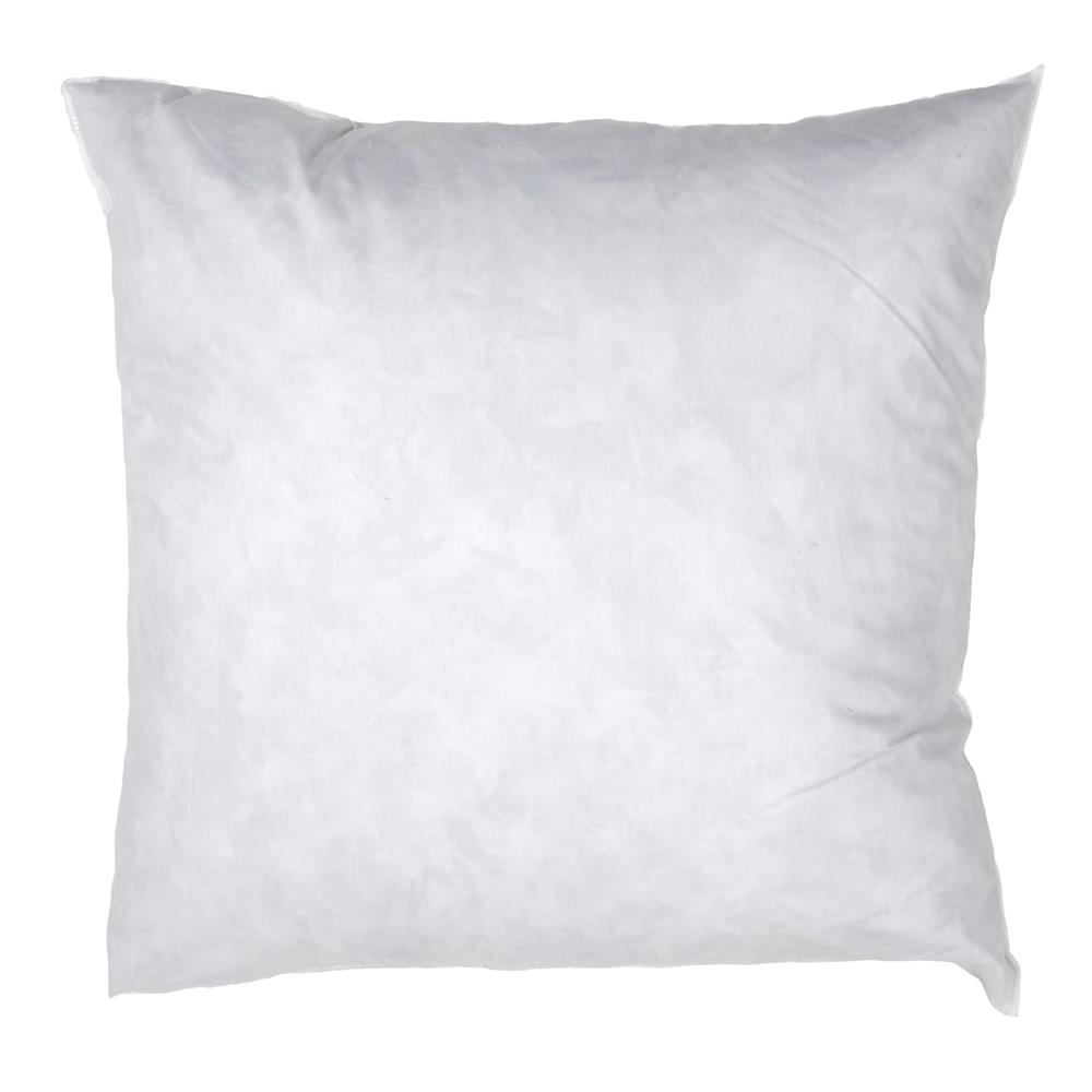 24'' x 24'' Feather/Down Pillow Form White
