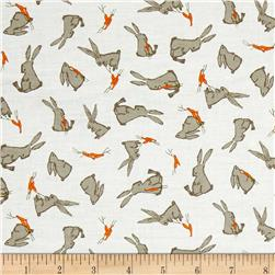 Moda Darling Little Dickens Bunnies Cloud