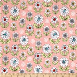 Riley Blake Dutch Treat Garden Pink