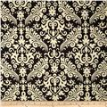 Riley Blake Home Décor Large Damask Black