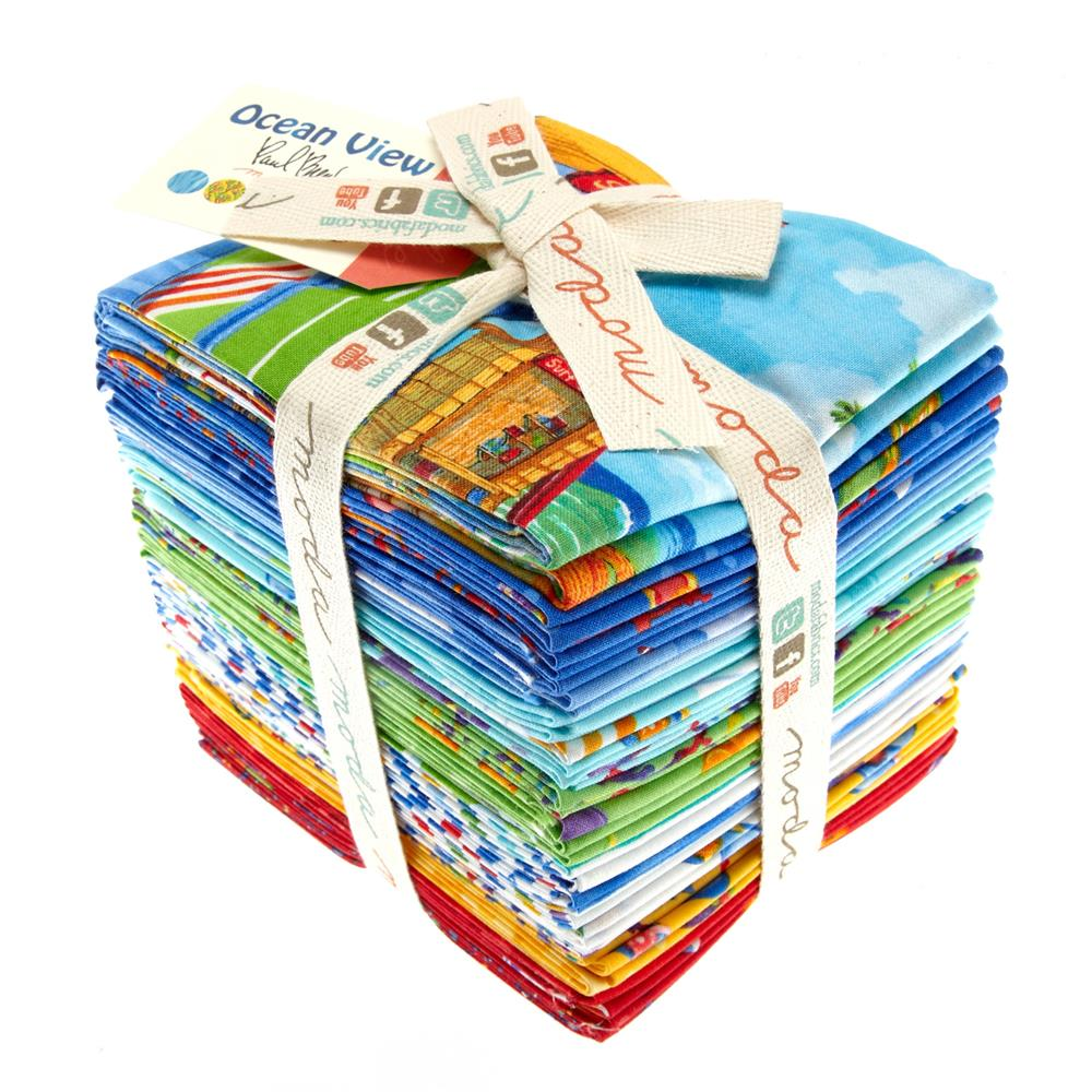 Moda Ocean View Fat Quarter Assortment