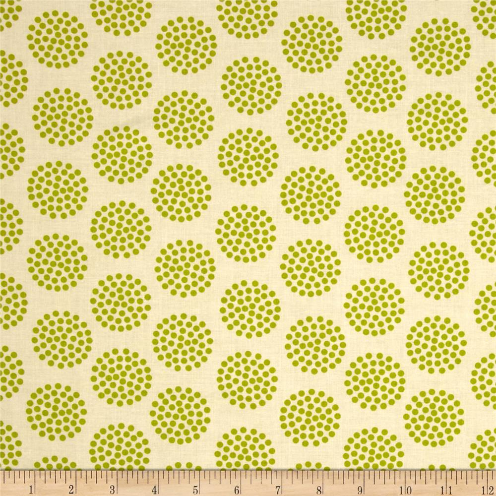 Moda The Sweet Life Prints Dots Sappy Green