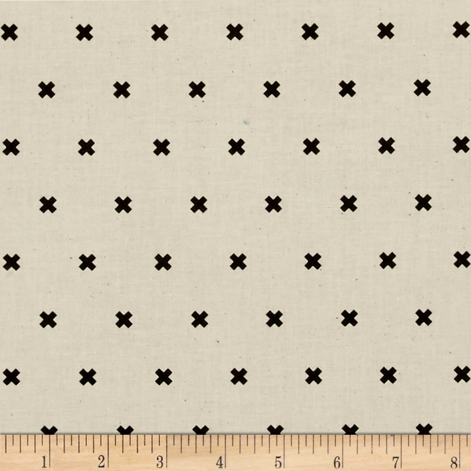 Image of Cotton + Steel XOXO Chocolate Chips Fabric