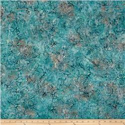 Wilmington Batiks Geo-Circles Ice Blue
