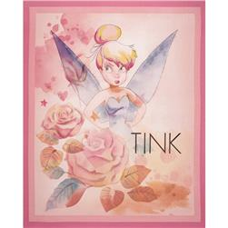 "Disney Tinkerbell All the Stars in the Sky Panel-36"" Lavender"